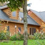 timberhaven log homes, NAHB tour, model home, lentine
