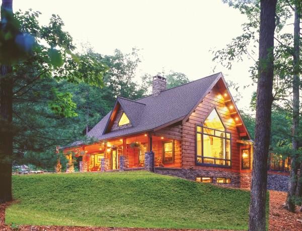 timberhaven log homes, richards design