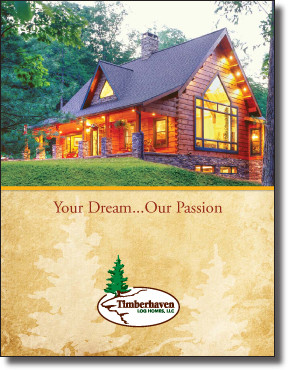 timberhaven log homes plan book