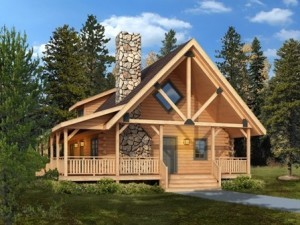log cabin in the woods, clear creek log cabin, small log cabins, log cabin homes, log homes, Timberhaven