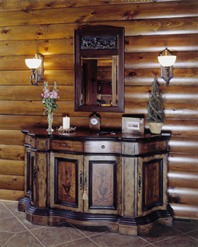 Log Home Decor - Accents