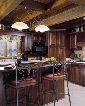Modern Convenience - Log Home