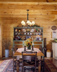 Simple Elegance In Dining Area, happy thanksgiving 2017, log home dining room, log homes, timber frame homes, Timberhaven