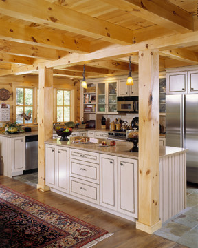 White Cabinets In Sunny Kitchen