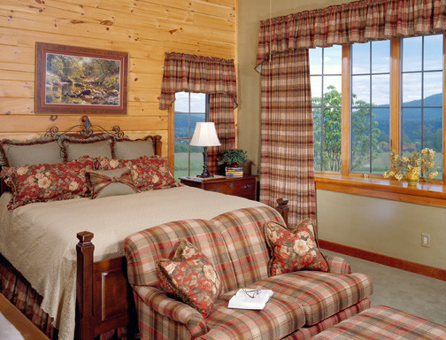 Master Suite - Timberhaven Log Home