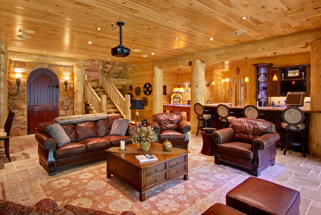 Epic Entertainment Space - Log Home
