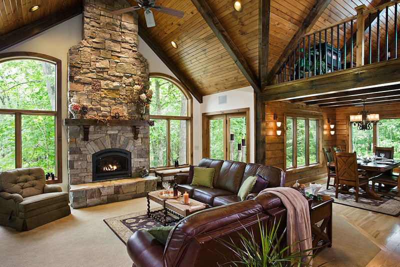 Light, Airy and Gorgeous - Log Home