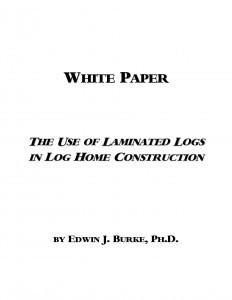 Laminated Log White Paper