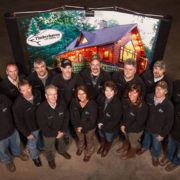 The employees at Timberhaven Log & Timber Homes