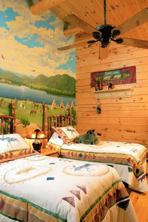 Custom Mural in Child's Bedroom