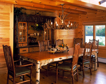 Custom-Carved Dining Room Furniture