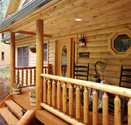 Rustic Porch Treatment Plan