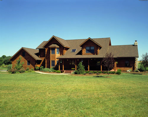 New Jersey Log Home - Timberhaven