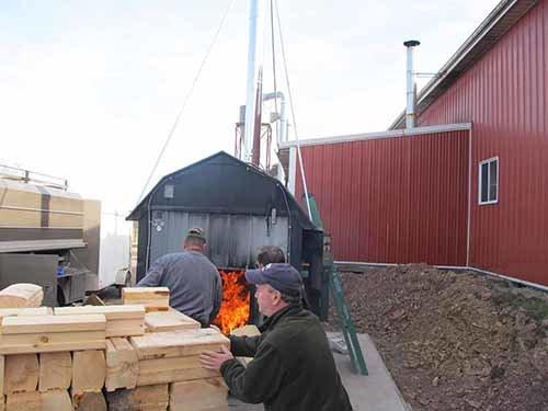 Zero Waste Factor, Wood Burning Furnace