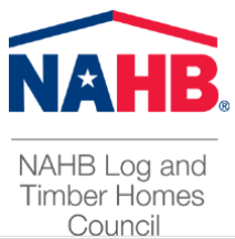 NAHB log and timber home council logo, 2018 jerry rouleau awards for excellence, national awards