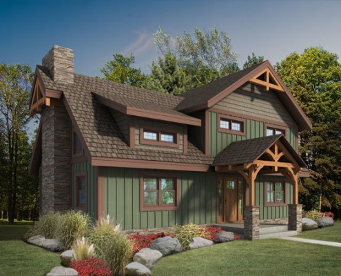 Craftsman Timber Frame Design