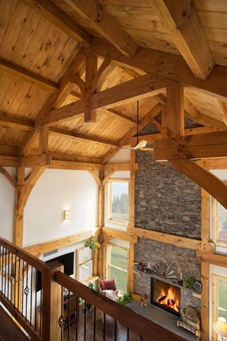 Timber Frame Great Room Greatness