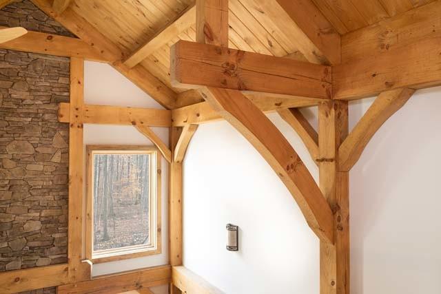 Timber Frame Detailed Craftsmanship