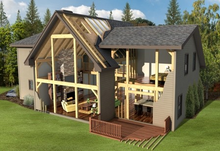 timber frame materials package