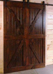 barn door kits double cross bucks, barn doors, sliding barn doors, barn door kits, Timberhaven, custom made barn doors