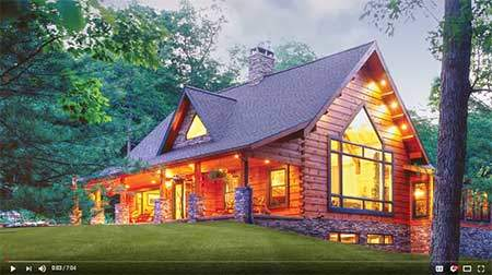 Engineered Log Homes Video