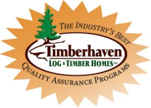Timberhaven logo starburst, lifetime warranty, quality assurance program, timberhaven difference