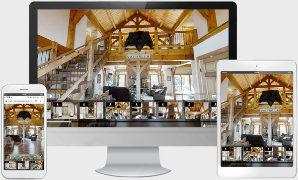 3D Virtual Tour Timberframe