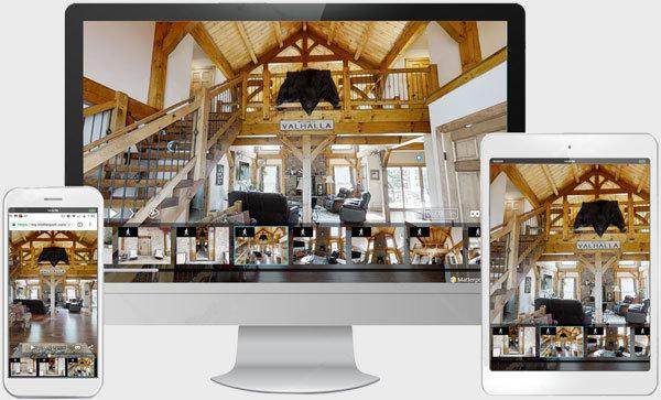 3D Virtual Tour Timberframe
