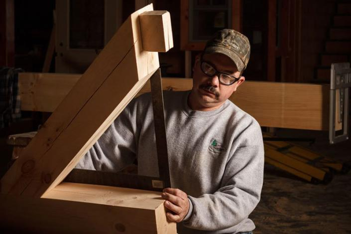 Timberwright measuring joinery