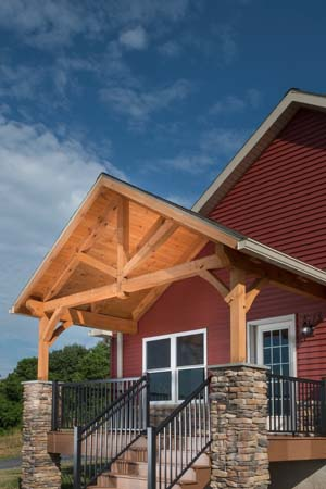 Timber Frame Porch System
