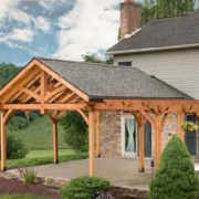 Timber Frame Pavilion and Pergola