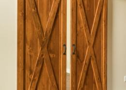 Cross Buck Interior Sliding Barn Doors