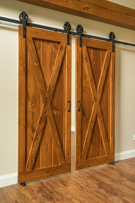 Cross Buck Interior Sliding Barn Doors