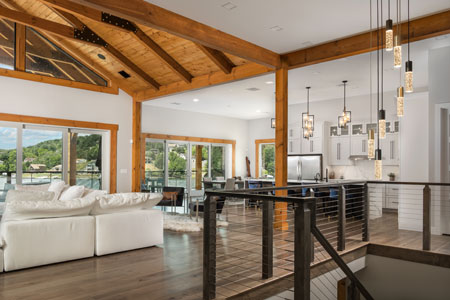 Modern Hybrid Home with Timber Accents