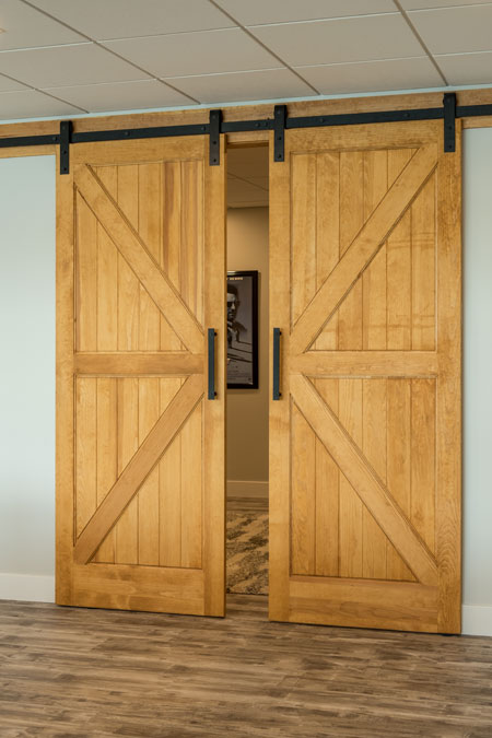 Double Buck Interior Sliding Barn Doors