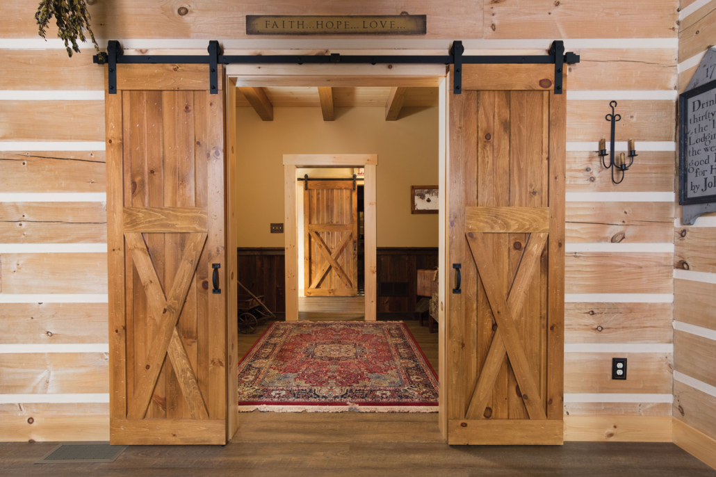 3/4 Buck Interior Sliding Barn Doors