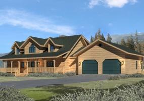 Chesapeake-II,Timberhaven Log Home,3 Bedrooms,2 Bathrooms