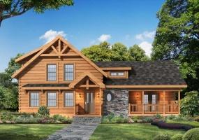 Laurel-Oaks,Timberhaven Log Home,3 Bedrooms,2 Bathrooms