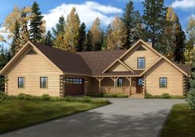 Bridgeport,Timberhaven Log Home,3 Bedrooms,3 Bathrooms