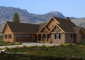 Bridgeport-Hybrid,Timberhaven Log Home,3 Bedrooms,3 Bathrooms