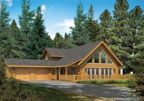 Keystone-II,Timberhaven Log Home,3 Bedrooms,2 Bathrooms