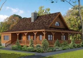 Harrisburg,Timberhaven Log Home,3 Bedrooms,2 Bathrooms