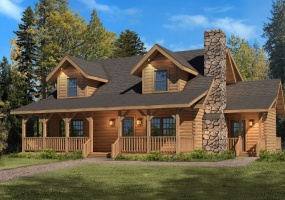 Mountain-View-I,Timberhaven Log Home,3 Bedrooms,2 Bathrooms