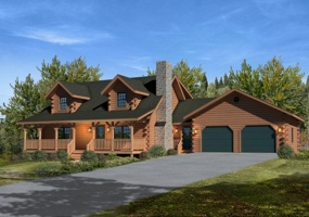 Mountain-View-II,Timberhaven Log Home,3 Bedrooms,2 Bathrooms