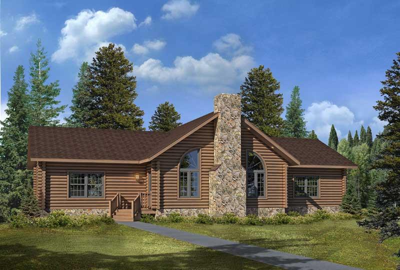 Lakeside-I,Timberhaven Log Home,3 Bedrooms,2 Bathrooms
