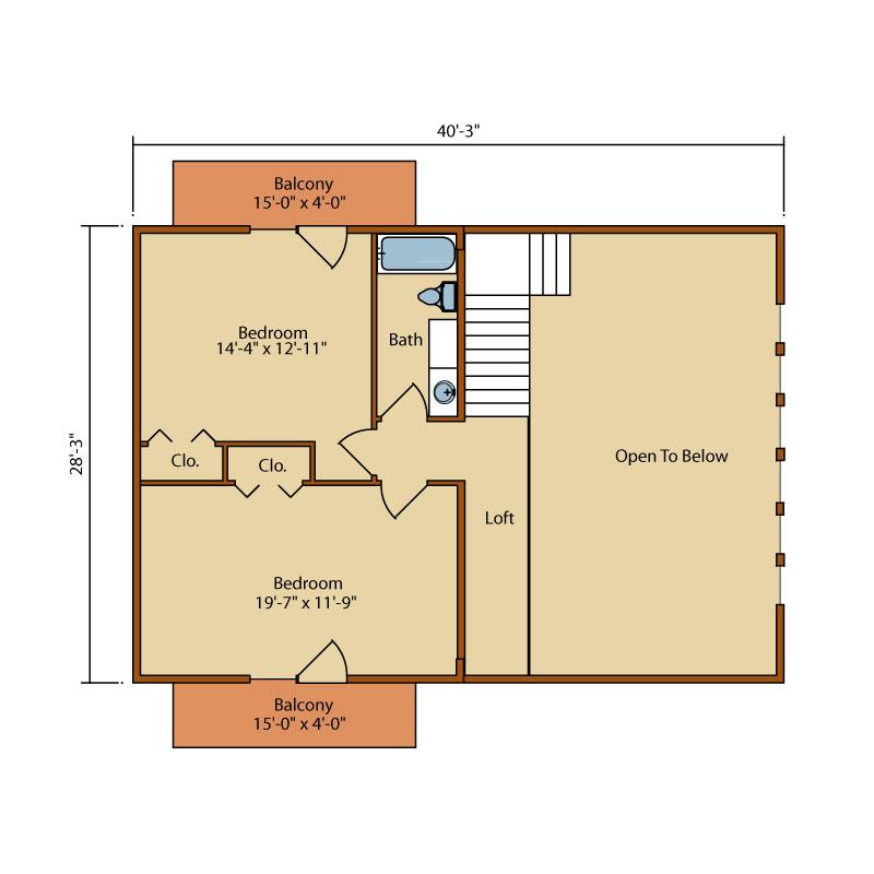 Aspen-Hill-I,Timberhaven Log Home,3 Bedrooms,2 Bathrooms