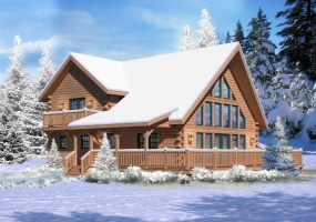 Aspen-Hill-I,Timberhaven Log Home,3 Bedrooms,2 Bathrooms