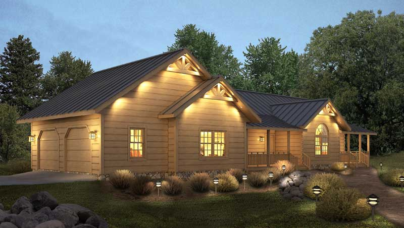 Loyalhanna-II,Timberhaven Log Home,3 Bedrooms,2 Bathrooms