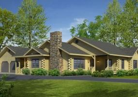 Northwood,Timberhaven Log Home,3 Bedrooms,2 Bathrooms