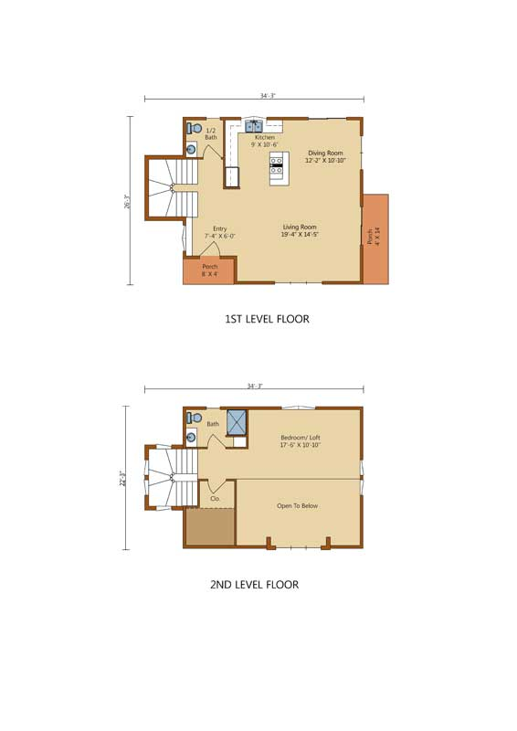 Goose-Creek,Timberhaven Log Home,1 Bedroom,1 Bathroom